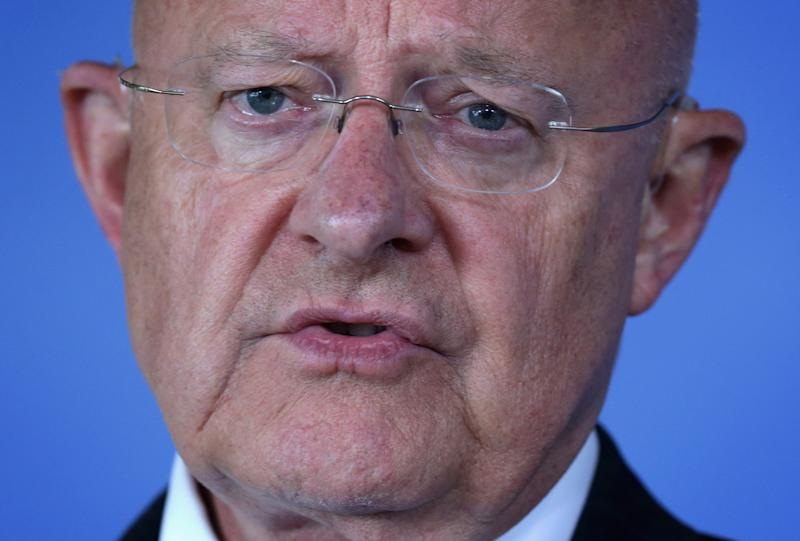 Director of US National Intelligence James Clapper speaks on July 22, 2014 in Washington, DC (AFP Photo/Alex Wong)