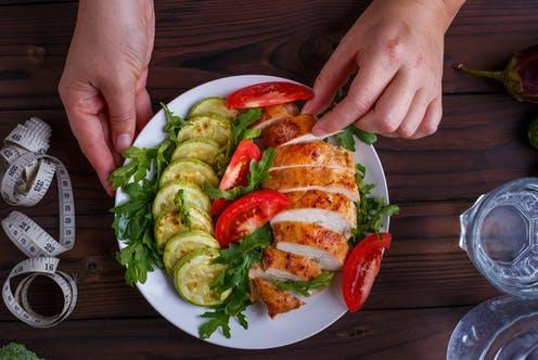 """<span class=""""caption"""">Were low-carb diets really better at achieving remission?</span> <span class=""""attribution""""><a class=""""link rapid-noclick-resp"""" href=""""https://www.shutterstock.com/image-photo/diet-concept-healthy-lifestyle-low-calorie-719049571"""" rel=""""nofollow noopener"""" target=""""_blank"""" data-ylk=""""slk:Flotsam/ Shutterstock"""">Flotsam/ Shutterstock</a></span>"""