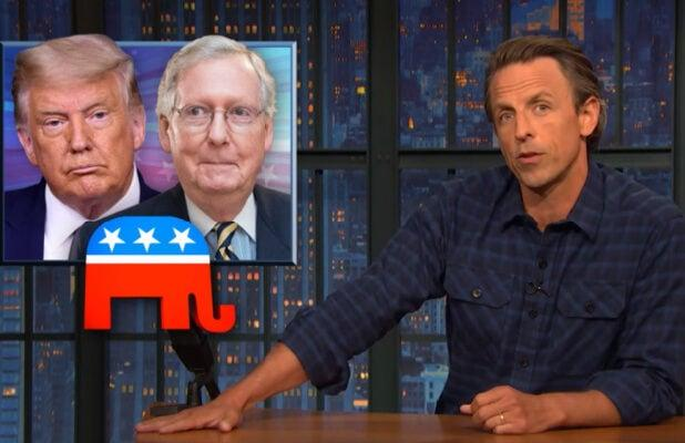Seth Meyers: Everything Republicans Say About SCOTUS Picks Is 'Obvious Bulls—' (Video)