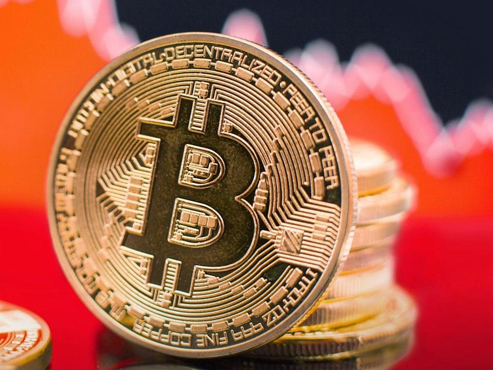 <p>Bitcoin price crashed amid a market-wide downturn on Tuesday, 8 June, 2021</p> (Getty Images)