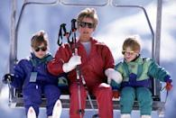 <p>Check out Prince Harry and Prince William's eyewear! Here, they're on a ski trip with their mother to Austria, which was Diana's preferred ski spot, rather than Charles' favorite, Klosters in Switzerland. Sadly, a friend of the royal family died in an avalanche that nearly caught Prince Charles in its way, and Diana refused to return to Klosters.</p>