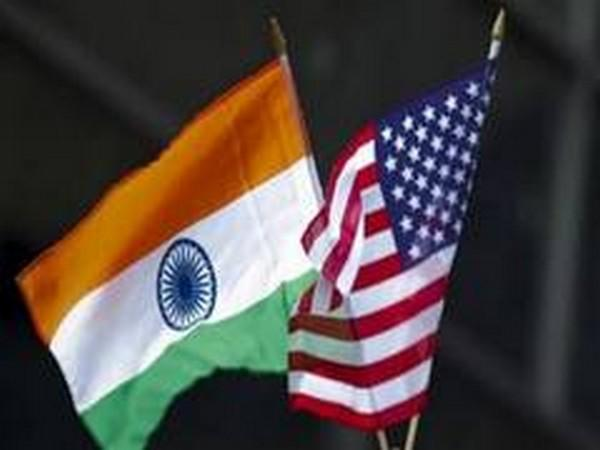 Flags of India and the US