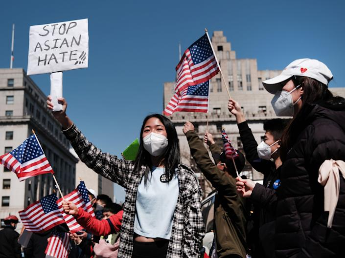 Stop Asian Hate Rally