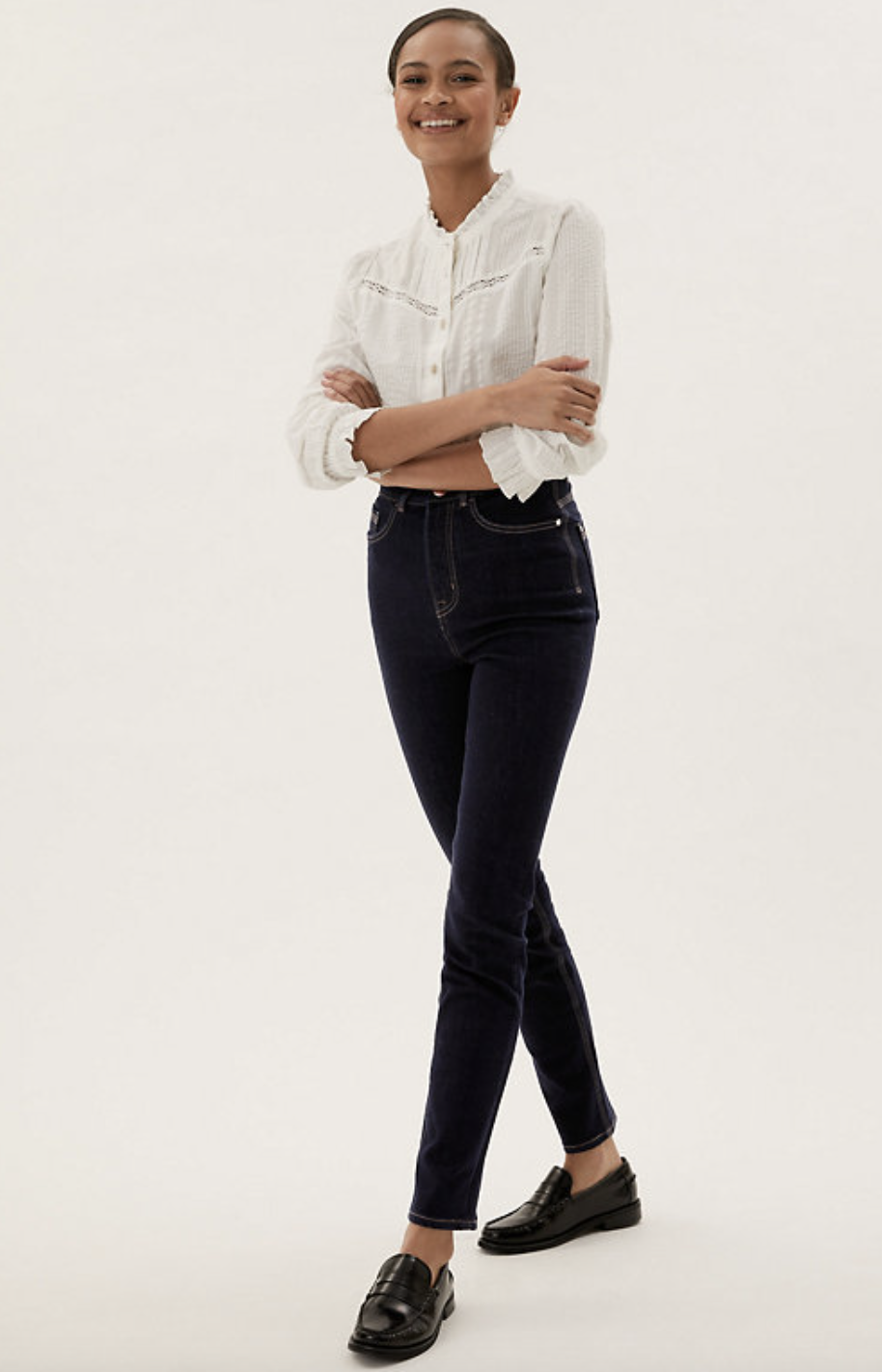M&S new Lily Magic Shaping Jeans are tipped to be the brand's most popular denim.  (Marks and Spencer)