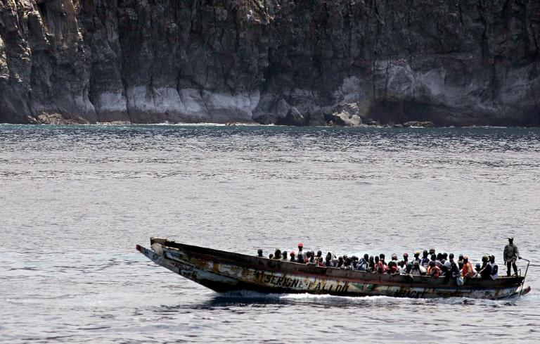 Boats carrying clandestine migrants from Western Africa to Spain have grown in recent years (AFP Photo/DESIREE MARTIN)