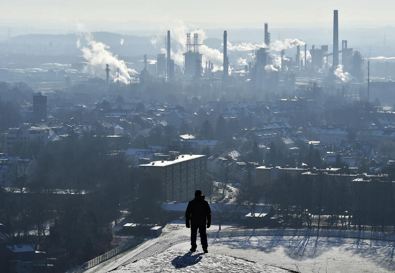 Exxon, BP, Chevron should pay for climate costs, NY says