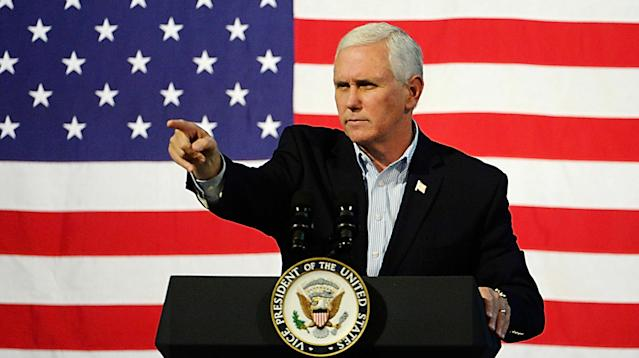 WASHINGTON ― On Oct. 14, 2016, then-GOP vice presidential nominee Mike Pence vehemently denied that the Trump campaign had any contact with WikiLeaks.