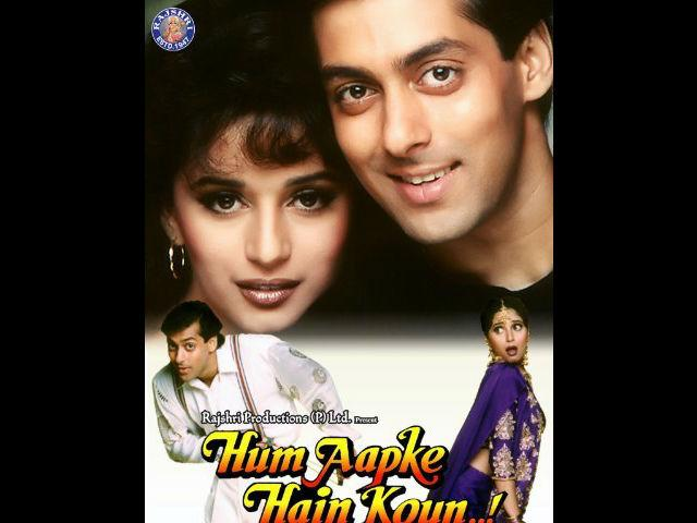 <b>1. Hum Aapke Hain Koun </b><br>This Madhuri Dixit-Salman Khan starrer was nothing less than a wedding epic. Madhuri's backless choli, green lehenga and Salman's three piece wedding suit became the recurrent theme of every to-be wed's wardrobe. It was rumoured during the movie's never ending run that more girls watched it with their tailors than boyfriends.