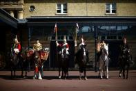 'Platinum Jubilee Celebration: A Gallop Through History' media launch at Buckingham Palace in London