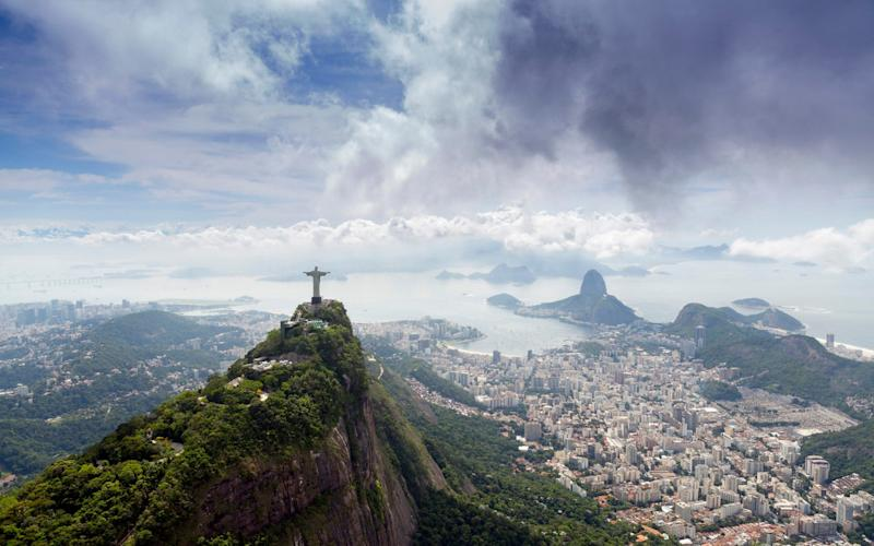 Investing in emerging countries, such as Brazil, could offer good protection against rising interest rates - Getty Images Contributor