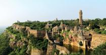 <p>One of the largest forts in India, Chittorgarh has amazing views, incredible ruins, and tons of history. </p>