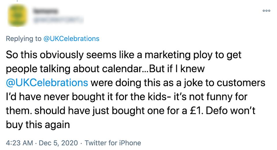 Hundreds of unhappy customers took to Twitter to complain to the company. Source: Twitter