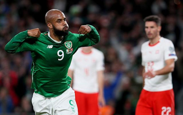 McGoldrick's equaliser against Switzerland was his first goal for his country - PA