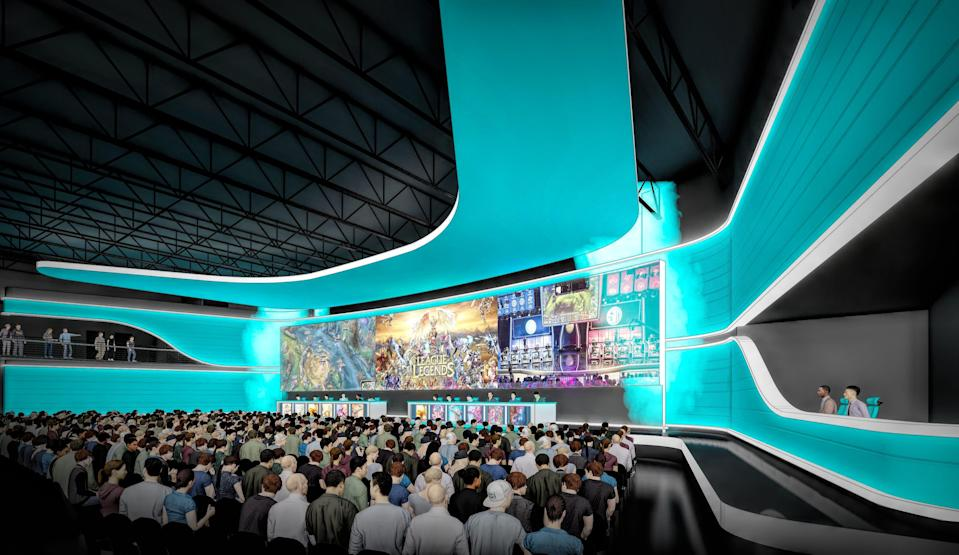 Cedar Fair's esports arena aims to host gaming tournaments all year, among other events.