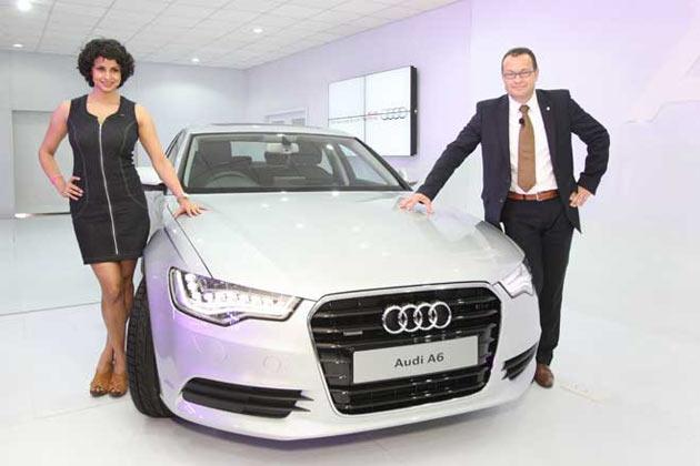 Audi, the German luxury car manufacturer has launched its executive class sedan, the new Audi A6 in India.