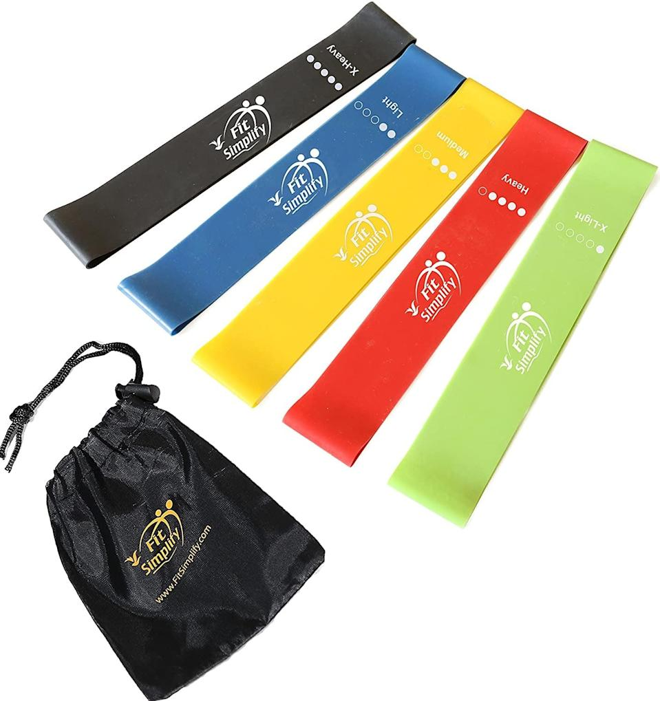 <p>You never knew that a little band could make you feel the burn so intensely, but these <span>Fit Simplify Resistance Loop Exercise Bands</span> ($12) will transform your movements.</p>