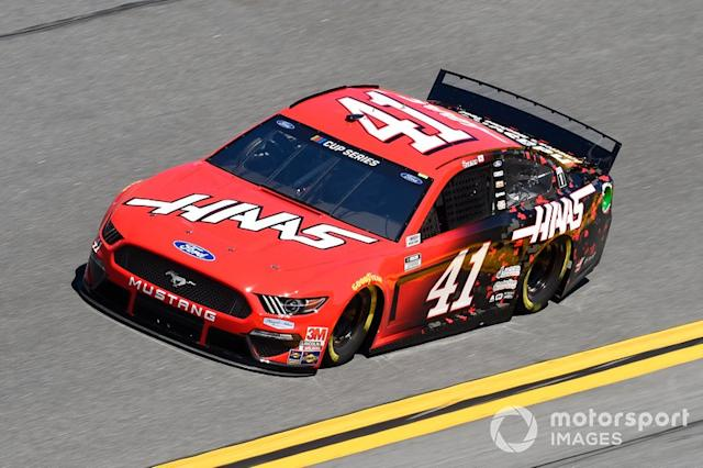 """12. Cole Custer, Stewart-Haas Racing, Ford Mustang Haas Automation <span class=""""copyright"""">John Harrelson / NKP / Motorsport Images</span>"""