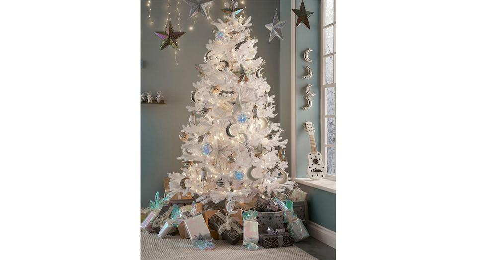 Magical White Pine Christmas Tree. (Joules)