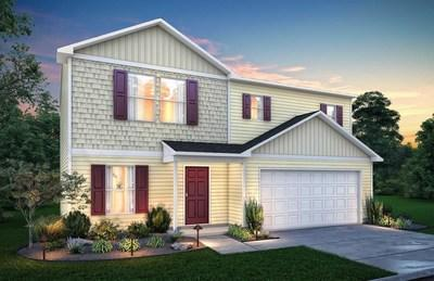 Plan 1802 at Tarkington Heights in Connersville, Indiana   New homes by Century Complete