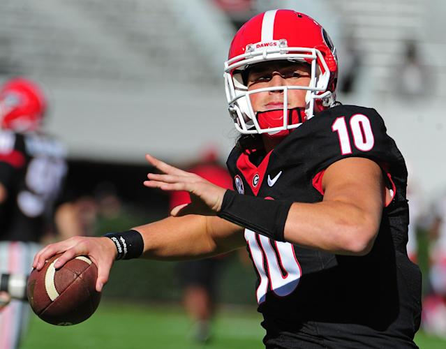 Jacob Eason enters his second season as Georgia's starter. (Getty)