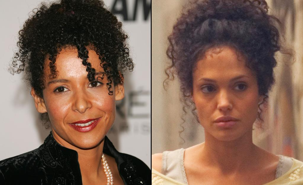 "MARIANE PEARL -- Journalist / Wife of Murdered Reporter Daniel Pearl  Played by: <a href=""http://movies.yahoo.com/movie/contributor/1800019275"">Angelina Jolie</a> in <a href=""http://movies.yahoo.com/movie/1809772217/info"">A Mighty Heart</a> (2007)   Angelina Jolie and Mariane Pearl befriended each other years before this movie came out. They even had play dates together with their respective babies. Jolie has also donated $100,000 to the Daniel Pearl Foundation in memory of Mariane's late husband."