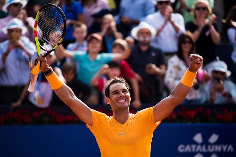 Nadal breaks McEnroe's record with 50th consecutive sets win