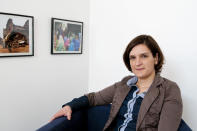 """This 2011 photo provided Monday Oct. 14, 2019 by the CNRS (National Scientifc Research Center) shows Esther Duflo. The 2019 Nobel prize in economics has been awarded to Abhijit Banerjee, Esther Duflo and Michael Kremer """"for their experimental approach to alleviating global poverty."""" The Royal Swedish Academy of Sciences announced the prize on Monday Oct. 14, 2019. (Cyril Fresillon/CNRS Phototheque via AP)"""