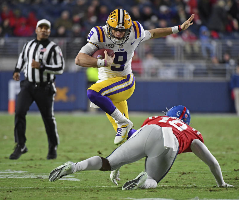 LSU vs Ole Miss Live Stream School football Program week 12