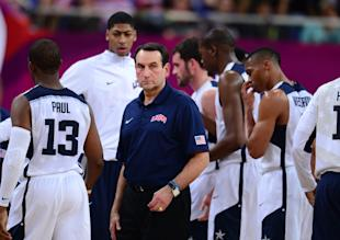 Krzyzewski guided the U.S. to the gold medal at the 2012 London Olympics. (USA Today)