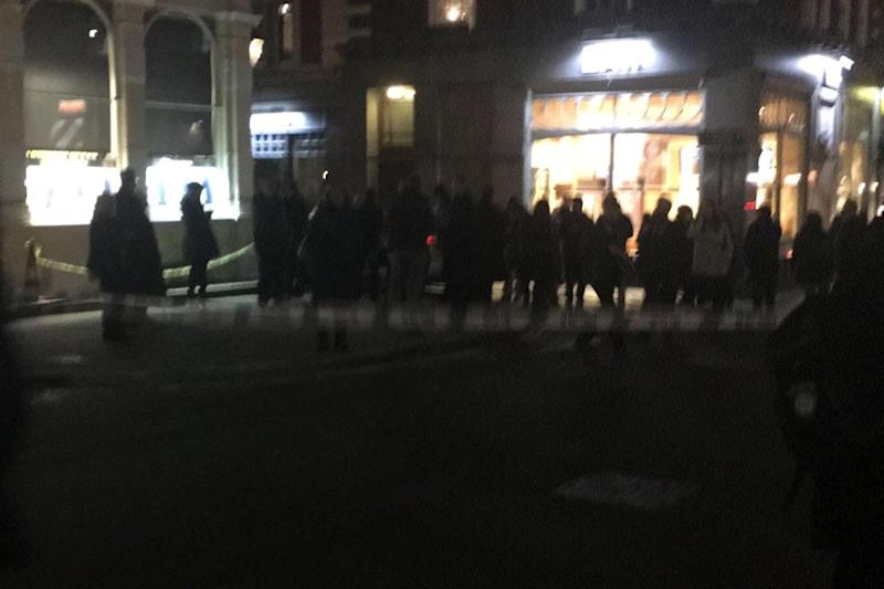 Police cordon: Covent Garden was evacuated after 'suspect package' was discovered: ES