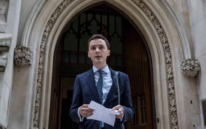 Police have dropped an investigation into former fashion student Darren Grimes, who appealed against £20,000 fine imposed by the Electoral Commission - Jeff Gilbert