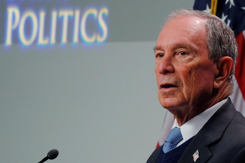 Bloomberg files papers for presidential run — but he's not in yet