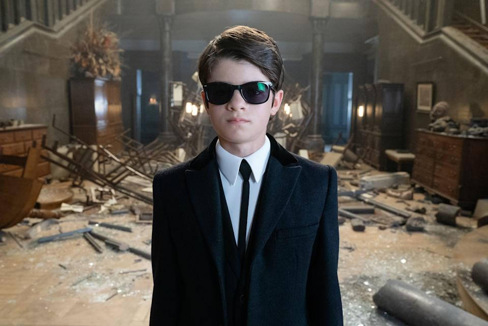 Ferdia Shaw is Artemis Fowl in ARTEMIS FOWL, directed by Kenneth Branagh. (© 2020 Disney Enterprises, Inc. All Rights Reserved.)