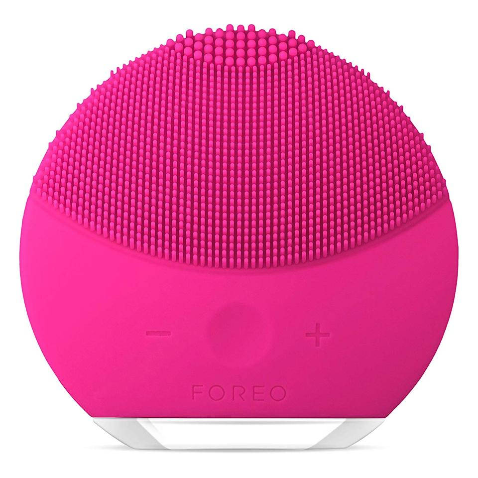 "Don't let the name mini fool you, this palm-sized Foreo skincare tool is just as powerful as the rest. The Luna Mini 2 uses the power of T-Sonic vibrations to cleanse deep below the skin's surface. With eight adjustable intensities and three zones of varying touch point thickness, it suitable for all skin types, from sensitive to oily. It also works to eliminate the impurities that would cause blemishes while remaining very gentle on your skin. And if you have a very specific top shelf aesthetic, it comes in five different colors. $139, Amazon. <a href=""https://amzn.to/2liJfEt"">Get it now!</a>"