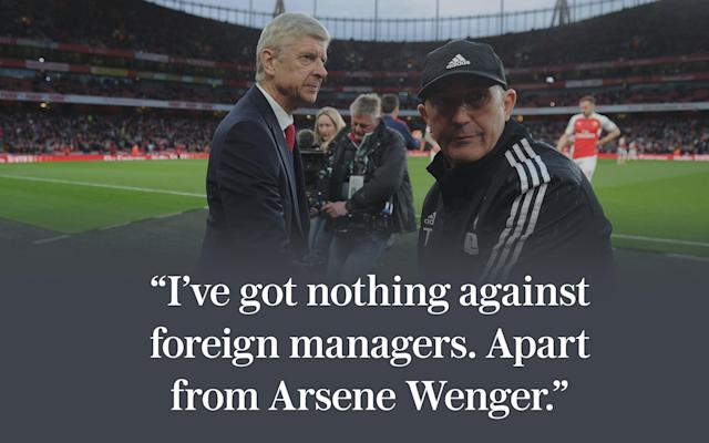 Arsene Wenger vs Tony Pulis: A brief history of the Premier League's ultimate philosophical rivalry - 2016 The Arsenal Football Club Plc