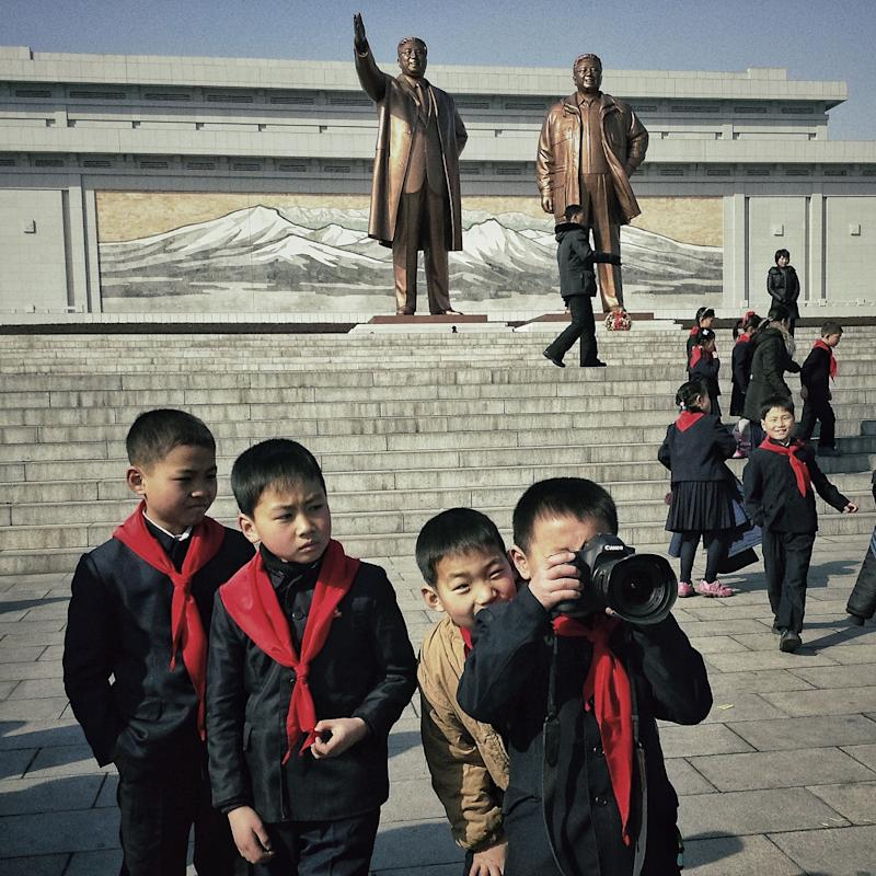 Tweets, pics give real-time peek into North Korea