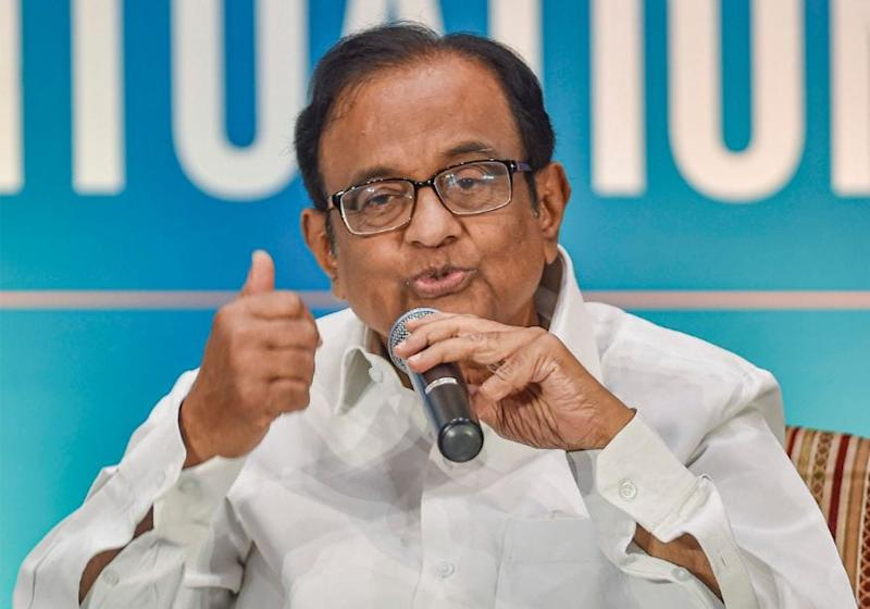 GDP Figures Running Commentary on Economic Mismanagement, Says Congress Leader Chidambaram