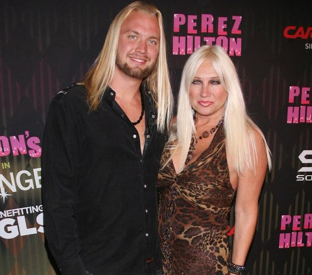 Charley Hill and Linda Hogan step out at the Perez Hilton's 2011 'One Night In Los Angeles' Concert Series at The Wiltern in Los Angeles on August 27, 2011 -- Getty Premium
