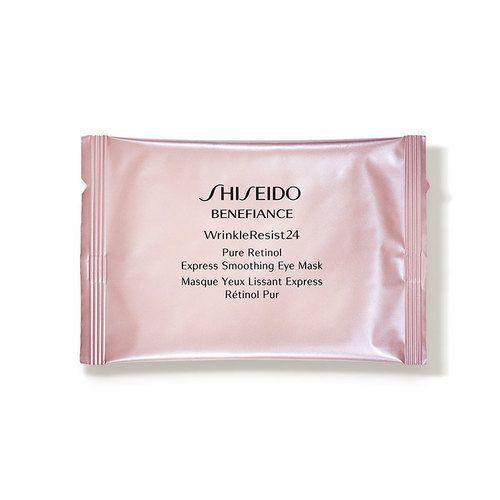 """<p><strong>Shiseido</strong></p><p>dermstore.com</p><p><strong>$59.50</strong></p><p><a href=""""https://go.redirectingat.com?id=74968X1596630&url=https%3A%2F%2Fwww.dermstore.com%2Fproduct_Benefiance%2BWrinkleResist24%2BPure%2BRetinol%2BExpress%2BSmoothing%2BEye%2BMask_83524.htm&sref=https%3A%2F%2Fwww.goodhousekeeping.com%2Fbeauty%2Fanti-aging%2Fg32633457%2Fbest-undereye-patches%2F"""" rel=""""nofollow noopener"""" target=""""_blank"""" data-ylk=""""slk:Shop Now"""" class=""""link rapid-noclick-resp"""">Shop Now</a></p><p>If you have crow's feet and visible signs of aging around your eyes that you want to nix, these are the patches for you. <a href=""""https://www.goodhousekeeping.com/beauty-products/g26764099/best-retinol-cream/"""" rel=""""nofollow noopener"""" target=""""_blank"""" data-ylk=""""slk:Retinol"""" class=""""link rapid-noclick-resp"""">Retinol</a> is a miracle worker on wrinkles: It<strong> speeds up cellular turnover to boost skin's collagen production to both minimize <em>and</em> prevent fine lines</strong>, meaning it works on existing lines and stops new ones from popping up. </p>"""