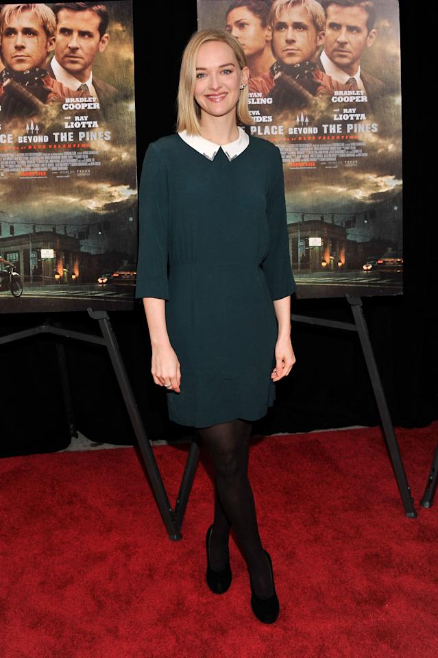 "NEW YORK, NY - MARCH 28:  Jess Weixler attends ""The Place Beyond The Pines"" New York Premiere at Landmark Sunshine Cinema on March 28, 2013 in New York City.  (Photo by Stephen Lovekin/Getty Images)"