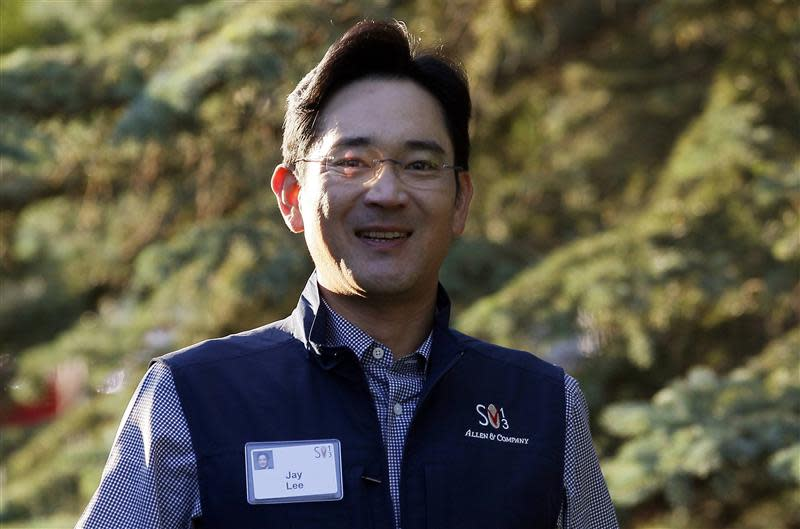 File photo of Jay Lee, Samsung Electronics vice chairman, arriving for the first session of annual Allen and Co. conference at the Sun Valley
