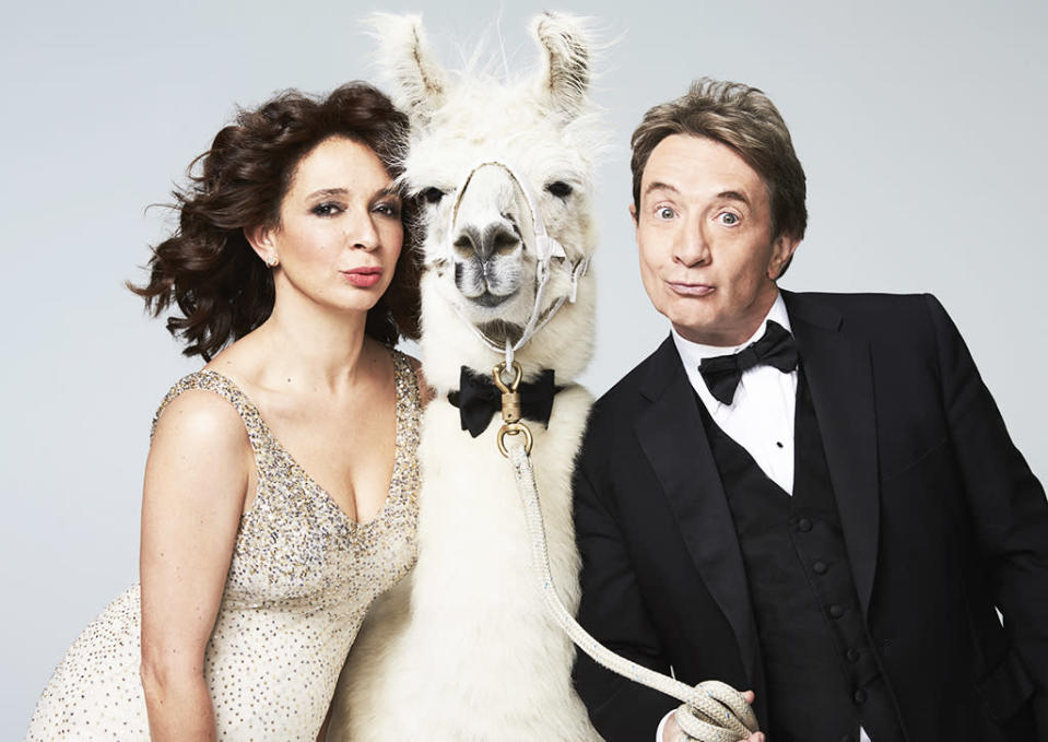 "<p><b>The 30-second pitch:</b> Back in 2015, Maya Rudolph and Martin Short were paired for a musical segment on the <i>Saturday Night Live 40th Anniversary Special</i> — and an idea was born. ""We had instant chemistry. Our working styles really clicked and Lorne [Michaels] said, 'Wait a minute. We should do this show,'"" Short recalls. ""We consider that the pilot."" Though the new sketch/variety show is exec produced by Michaels, headlined by two alumni (with help from a third, Kenan Thompson), and will tape at 30 Rock, this is not <i>Tuesday Night Live</i>. ""We won't do up-to-the-last-minute current events,"" Rudolph says. ""The difference is the relaxed feeling. We are inviting our buddies to come have fun with us and maybe do something you've never seen them do.""<br><br><b>Everything old is new again:</b> Both stars say they'll likely revisit old characters like Jiminy Glick and Queen Bey. ""It is hard to imagine a world with Beyonce in it where I would not ever play her,"" says Rudolph. ""I don't even want to imagine a world without Beyonce in it, period."" <i>— Carrie Bell</i><br><br><i>(Credit: Mary Ellen Matthews/NBC)</i> </p>"