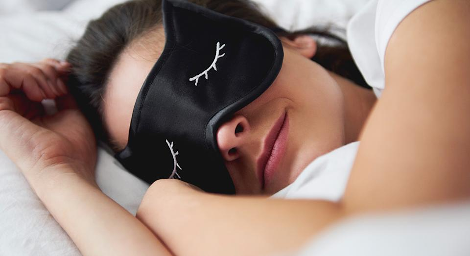 Amazon is selling a top-rated sleep mask (not pictured) for men and women to help you doze off at night. (Getty Images)