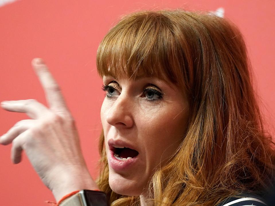 Angela Rayner denounced those denying the scale of antisemitism within the Labour Party (Christopher Furlong/Getty Images)