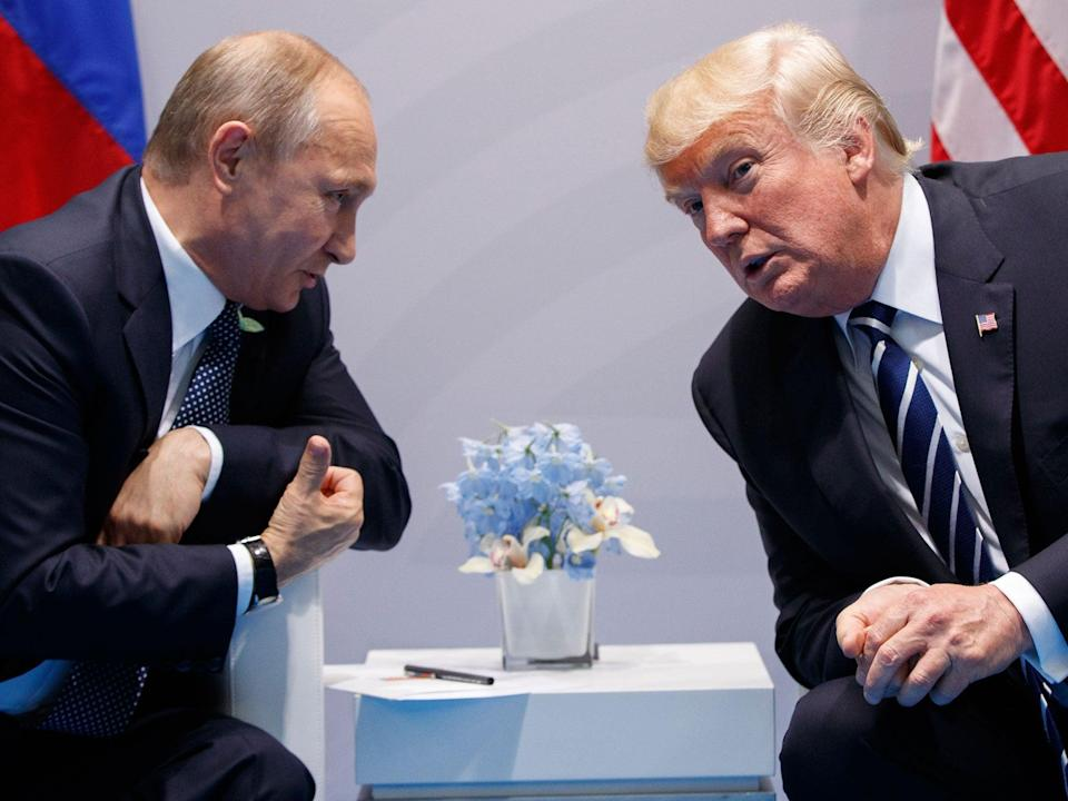 Trump wrongly identified Putin as 'the richest man in the world by a multiple'(AP) (AP)