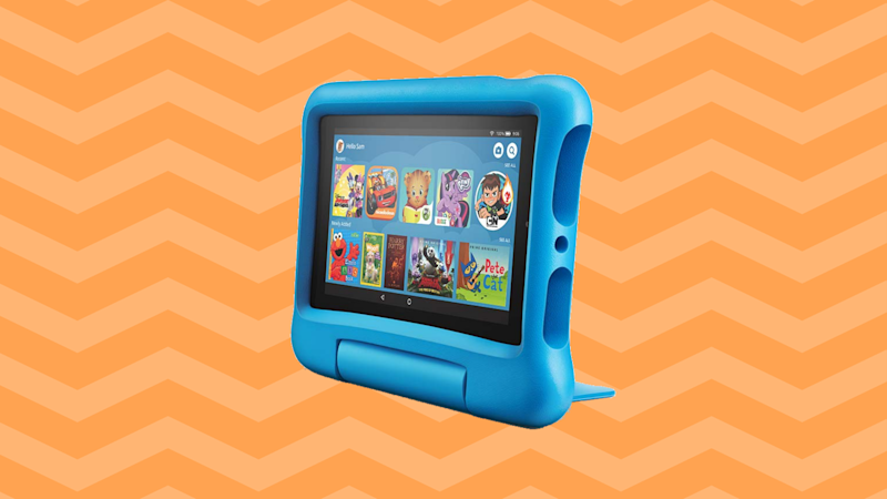 Save a whopping 40 percent on the Fire 7 Kids Edition! (Photo: Amazon)