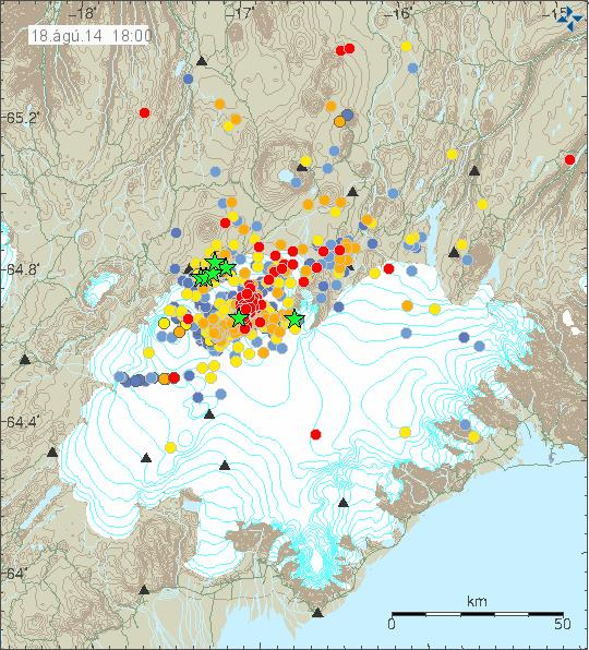Chances of Eruption Increasing at Iceland Volcano