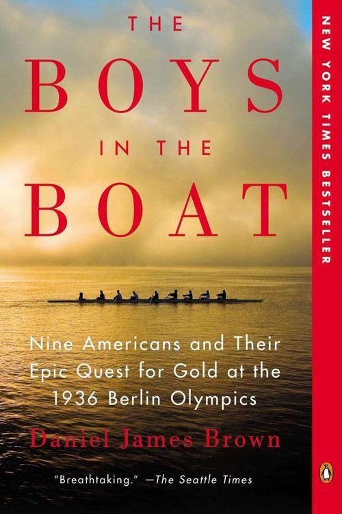 """<p><strong><em>The Boys in the Boats</em> by Daniel James Brown </strong></p><p>$12.44 <a class=""""link rapid-noclick-resp"""" href=""""https://www.amazon.com/Boys-Boat-Americans-Berlin-Olympics/dp/0143125478/ref=sr_1_2_twi_pap_2?tag=syn-yahoo-20&ascsubtag=%5Bartid%7C10063.g.34149860%5Bsrc%7Cyahoo-us"""" rel=""""nofollow noopener"""" target=""""_blank"""" data-ylk=""""slk:BUY NOW"""">BUY NOW</a> </p><p><em>The Boys in the Boats</em> is an inspirational story of beating the odds and finding the hope and desire to succeed. The book follows nine working-class boys from the University of Washington as they shocked the world by defeating elite rowing teams, including the German team rowing for Adolf Hitler. Daniel James Brown's book was an immediate best-seller, and it inspired the PBS documentary <em>The Boys of '36</em>. </p>"""