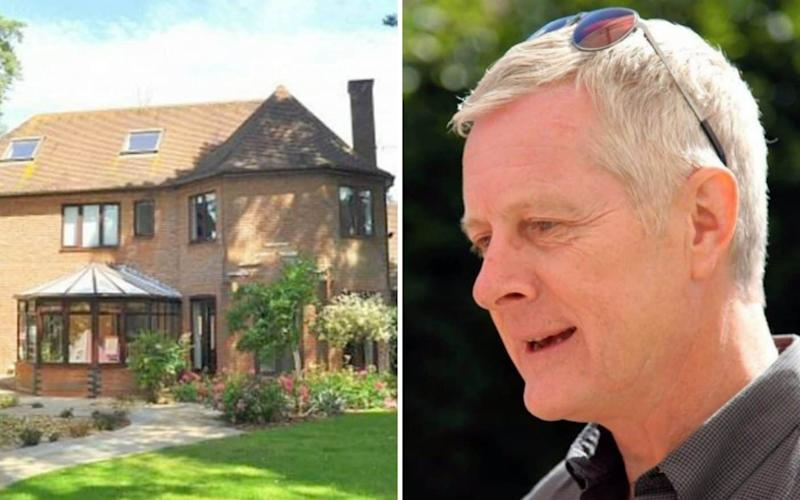 Peter Hedger is believed to have been deliberately targeted for high-value jewellery at his exclusive detached home - INS/PA