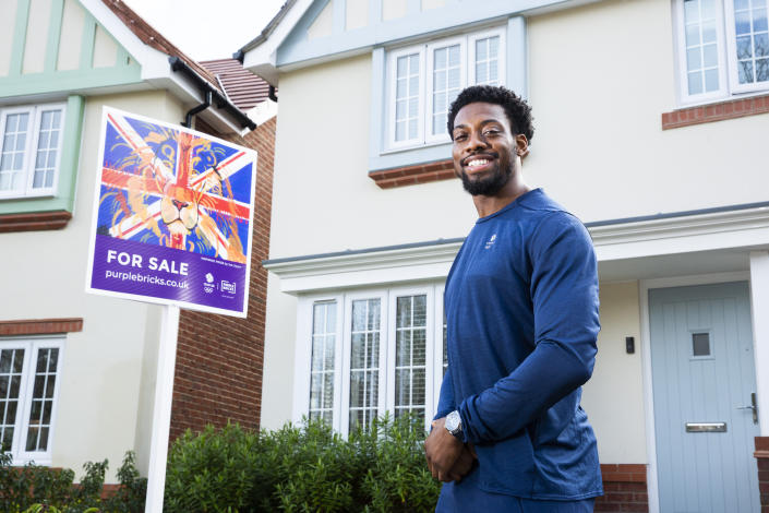 Taekwondo star Muhammad is helping Purplebricks encourage the nation to get behind Team GB on their journey to Tokyo